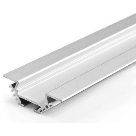 Profil aluminiowy LED PAC - ALU narożny anodowany 1m