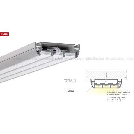 Profil aluminiowy LED TRIADA anodowany 1m