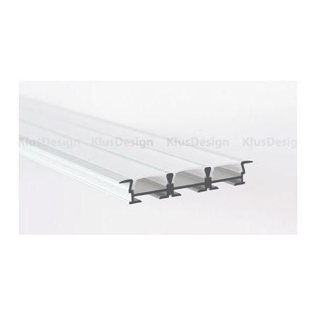 Profil aluminiowy LED TRIADA-K anodowany 1m