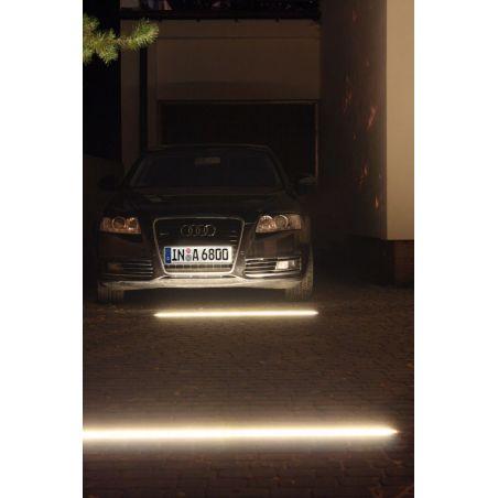 Profil aluminiowy LED wpuszczany HR-LINE nieanodowany 1m