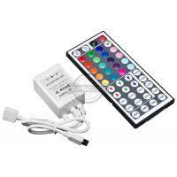 Kontroler RGB IR 44 przyciski, 12V DC, 72W, RGB