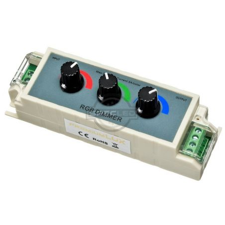 Kontroler RGB manualny (3 pokrętła), 12V DC, , RGB