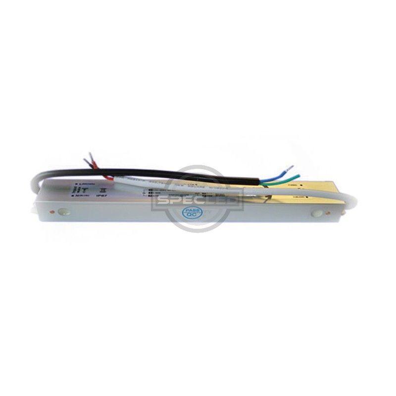 Zasilacz wodoodporny 45W IP67, 12V DC, metal