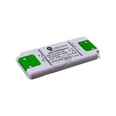 Zasilacz meblowy FTPC12V12, 12W, IP20, 12VDC/1A