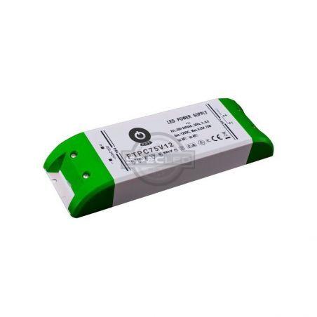 Zasilacz meblowy FTPC75V12 75W, IP20, 12VDC/6,25A