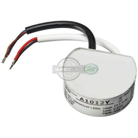 Zasilacz MPL do puszki fi60, wodoodporny 10W IP67, 12V DC, metal