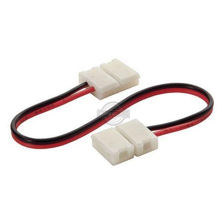Złączka do taśmy LED 8mm 2-punktowa, 12V DC T+K+T