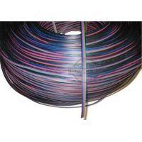 Kabel RGB 4 - żyłowy 0,2mm2 (1mb) do montażu taśmy RGB, 12V DC