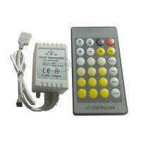 Kontroler do zmiany barwy taśmy BI-Colour ciepło-zimnej IR, 12V DC, 72W, BI colour
