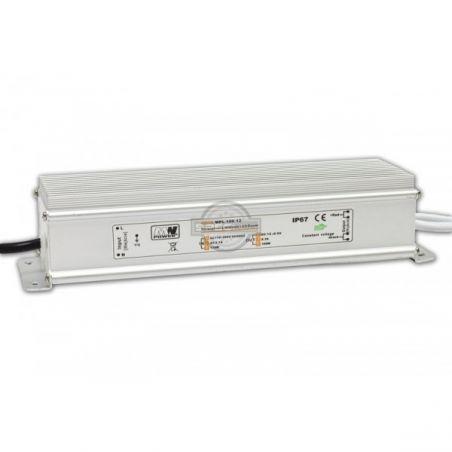 Zasilacz wodoodporny 100W IP67, 12V DC, metal