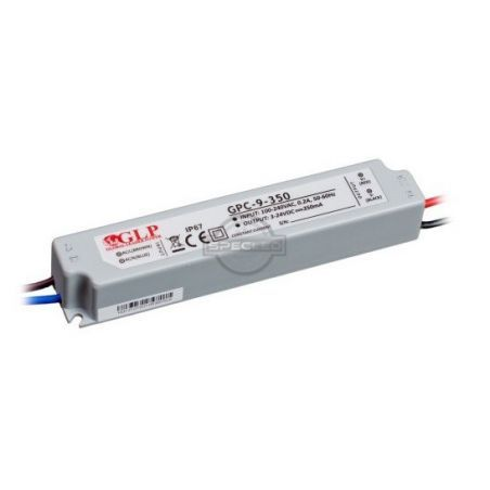 Global Leader Power 350mA, 9W, 24V DC, IP67 prądowy