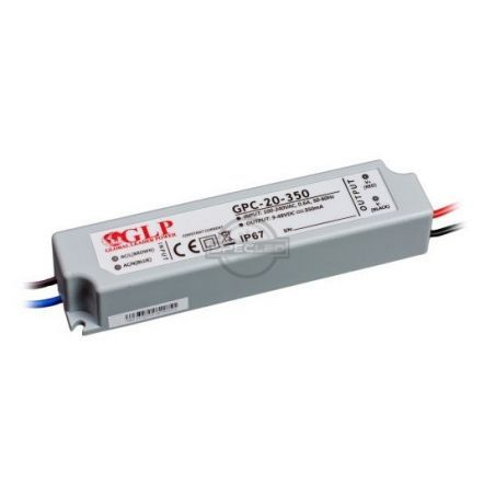 Global Leader Power 350mA, 20W, 48V DC, IP67 prądowy