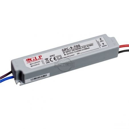 Global Leader Power 700mA, 9W, 24V DC, IP67 prądowy