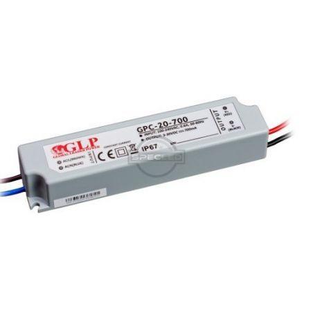 Global Leader Power 700mA, 20W, 48V DC, IP67 prądowy