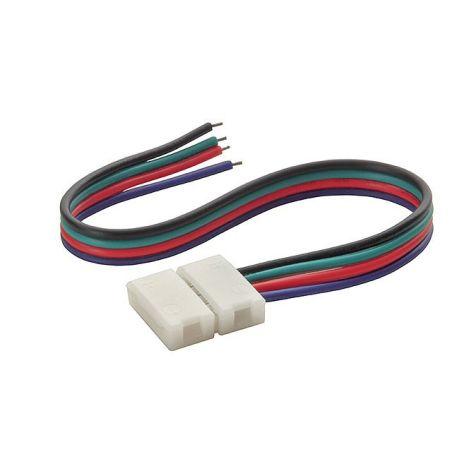 Złączka do taśmy LED RGB 10mm 4-punktowa, 12V DC T+K
