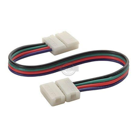 Złączka do taśmy LED RGB 10mm 4-punktowa, 12V DC T+K+T