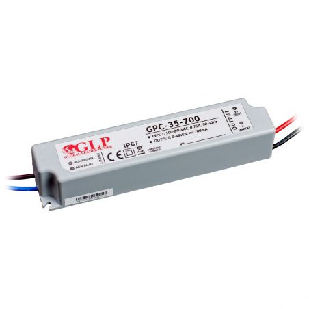 Global Leader Power 700mA, 35W, 48V, IP67 prądowy