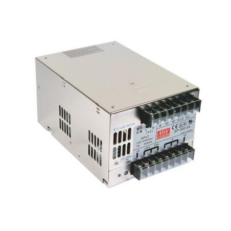 Zasilacz modułowy Mean Well SP-500-24, 500W, IP20, 24VDC