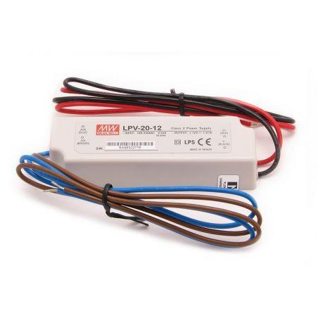 Zasilacz wodoszczelny Mean Well LPV-20-12, 20W, IP67, 12VDC