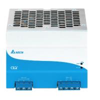 Zasilacz na szynę DELTA DIN CliQ II 480W, 24V DC, metal, seria Qliq II, gwarancja 5 lat