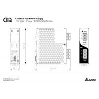 Zasilacz na szynę DELTA DIN CliQ 60W, 12V DC, metal, gwarancja 5 lat
