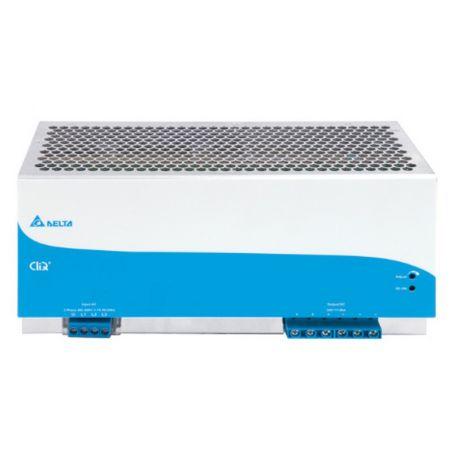 Zasilacz na szynę DELTA DIN CliQ II 960W, 24V DC, metal, gwarancja 5 lat, (3 fazowe zasilanie)