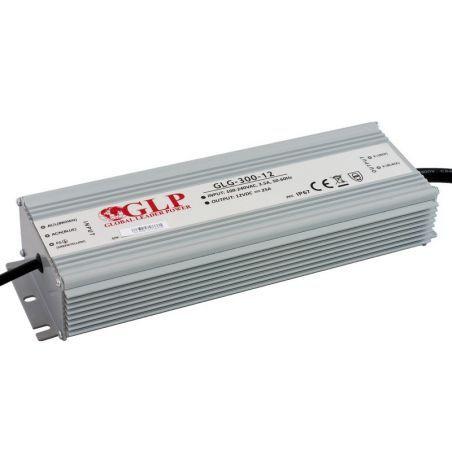 Zasilacz wodoszczelny GLG-300-12, 300W, PFC, IP65, 12VDC