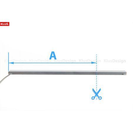 Lampa wodoszczelna Kluś HR-KAT-50, 2,2W, IP67, 12V DC, gwarancja 2 lata