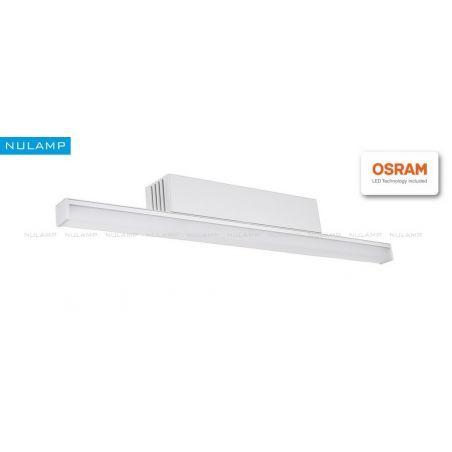 Lampa NULAMP GIP QUADRO K + BOX 100cm, 22W, 2400lm, 5000K, Ra85