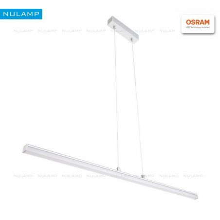 Lampa NULAMP GIP QUADRO W + BOX 100cm, 22W, 2350lm, 4000K, Ra80