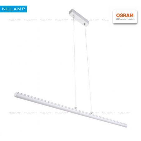Lampa NULAMP GIP RUNDO W + BOX 100cm, 22W, 2100lm, 3000K, Ra80