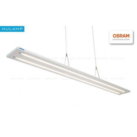 Lampa NULAMP UDESIGN W DOUBLE WHITE 100cm, 36W, 3340lm, 3000K, Ra80