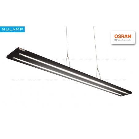 Lampa NULAMP UDESIGN W DOUBLE BLACK 100cm, 36W, 3720lm, 4000K, Ra80