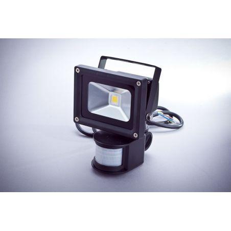 Naświetlacz LED 10W IP65 z czujnikiem ruchu i zmierzchu