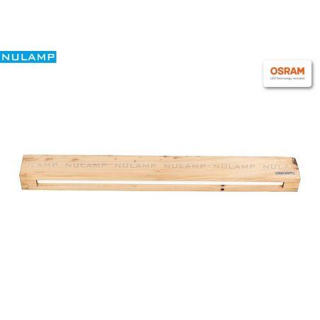 Lampa NULAMP RETRO W POJEDYNCZA SOSNA 100cm, 22W, 2100lm, 3000K, Ra80