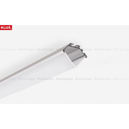 Profil aluminiowy LED KOPRO anodowany z osłonką