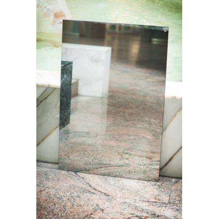 Lustrzany panel grzewczy na podczerwień 60x90cm 600W