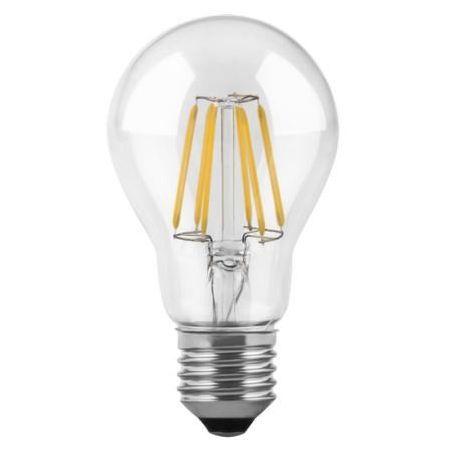 Żarówka Filnament LED E27 A60 6W  230V Biała ciepła