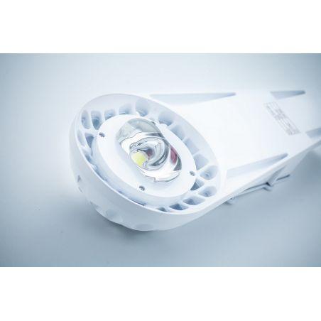 Oprawa uliczna LED Bridgelux 50 W MeanWell driver IP65 stalowa biała