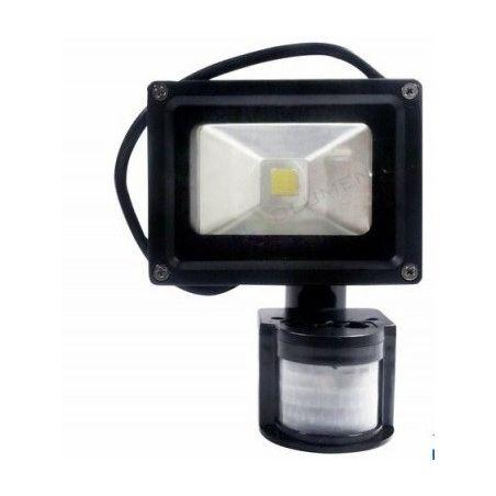 naświetlacz HL-15P/10W LED IP65 CCD PIR CW