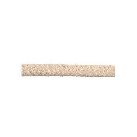 Kabel w oplocie bawełnianym 2x0,75 - beżowy 1m