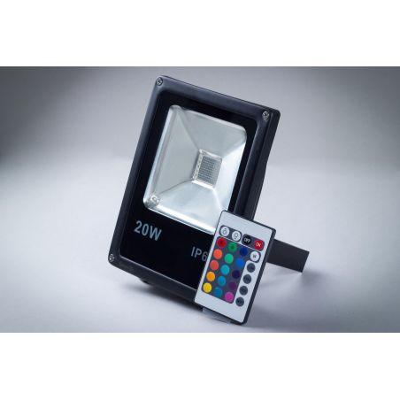 Naświetlacz LED 20W Economy IP65 RGB