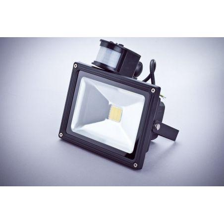 Naświetlacz LED 20 W IP65 z czujnikiem ruchu i zmierzchu