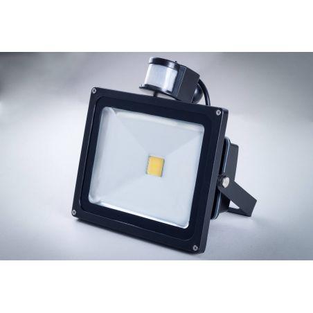 Naświetlacz LED 30 W IP65 z czujnikiem ruchu i zmierzchu