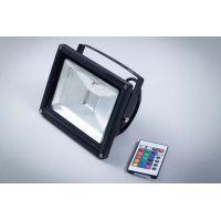 Naświetlacz LED 20W IP65 RGB Professional z pilotem