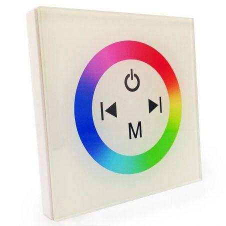 Sterownik LED z panelem dotykowym RGB biały