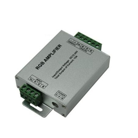 Wzmacniacz sygnału RGB 12V~24V 12A