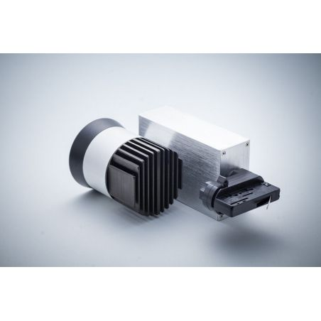 Reflektor szynowy LED COB 20W obudowa aluminiowo-czarna 230V