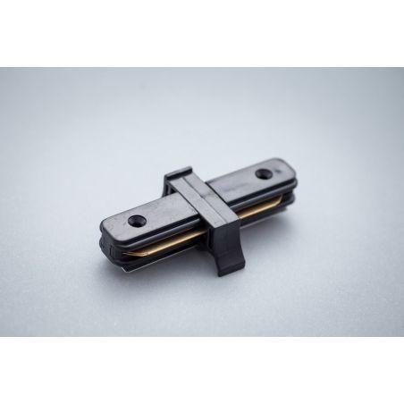 Łącznik do szyn 1-fazowych czarny - LED