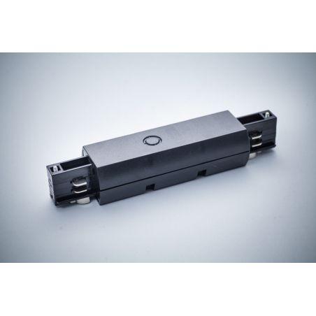 Łącznik do szyn 3-fazowych czarny - LED